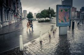 L'amour sous un parapluie (Liège)