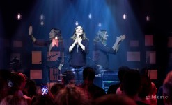 Zazie en concert au Cirque Royal