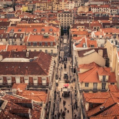 Les toits de Lisbonne