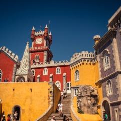 Le château de Sintra (Portuga)