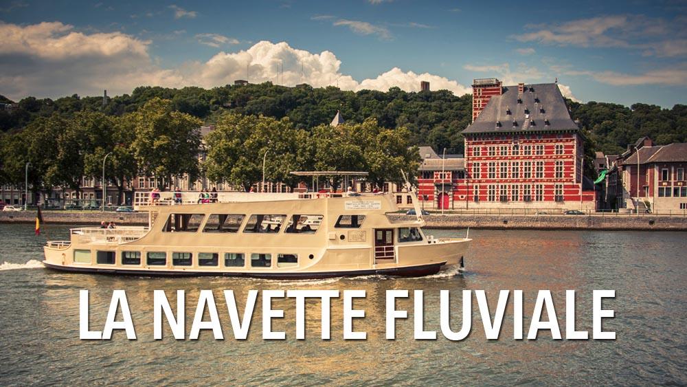 La Navette fluviale de Liège (une autre façon de visiter la ville) : photos et vidéos.