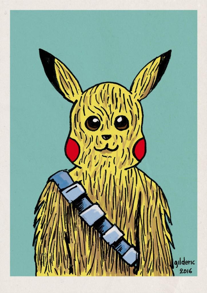Pikachubacca (Pikachu+Chewacca Mashup)