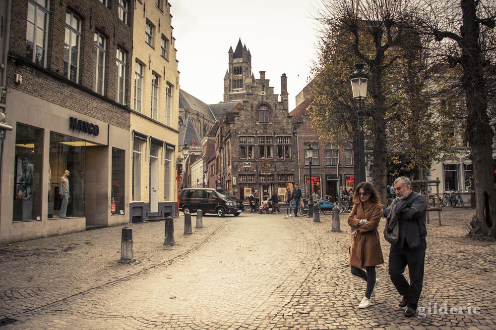 Le rpmantisme de Bruges en automne