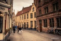 Shopping à Bruges en automne
