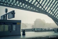 Mystère futuriste sur le quai de Liège-Guillemins