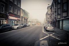 Rue Grétry embrumée