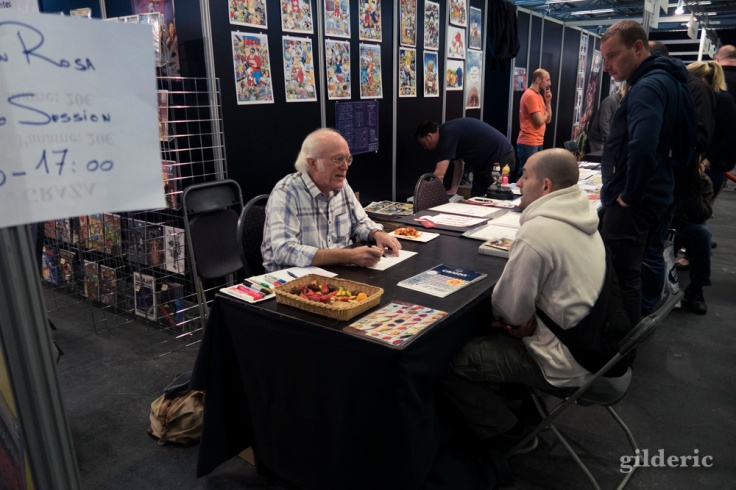 Le dessinateur de comics Disney Don Rosa dédicace à FACTS 2016