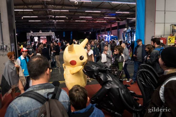 Pikachu & Krokmou à FACTS 2016