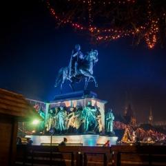 Illuminations du Nouvel An à Cologne