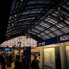 La gare de Cologne
