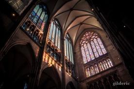 Intérieur de la cathédrale de Cologne