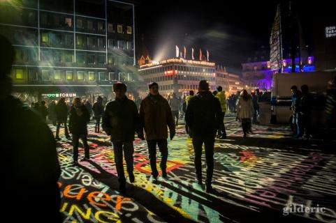 Lightshow du Nouvel An à Cologne