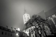 Nuit glaciale à Bratislava