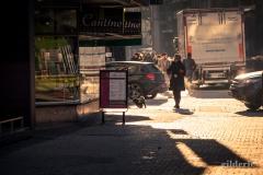 Par grand froid... dans les rues (de Liège)