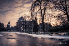 Les Bruyères en hiver, Liège)