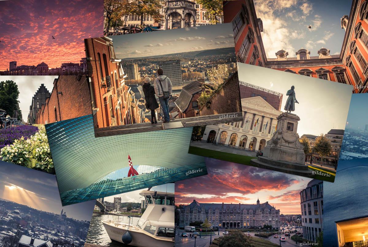 25 cartes postales deLiège