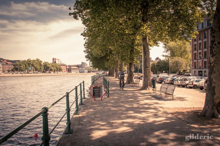 Promenade sur les quais (de Liège)
