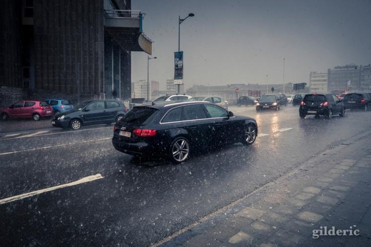 Pluie et grêle (Liège)