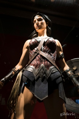Détail du costume de Wonder Woman (2017)