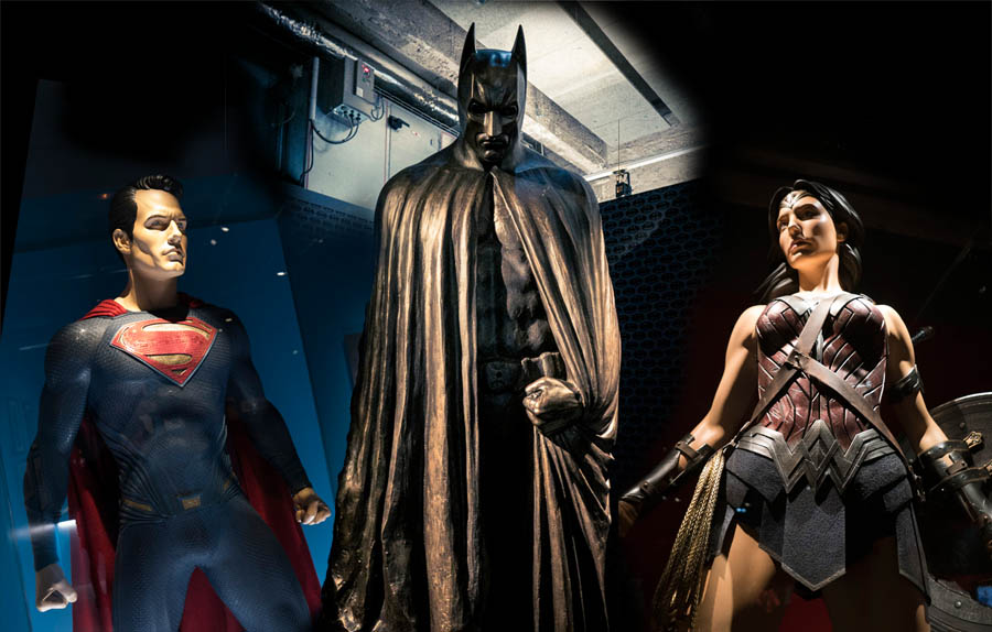 """Exposition """"L'Art de DC - L'aube des Super-Héros"""