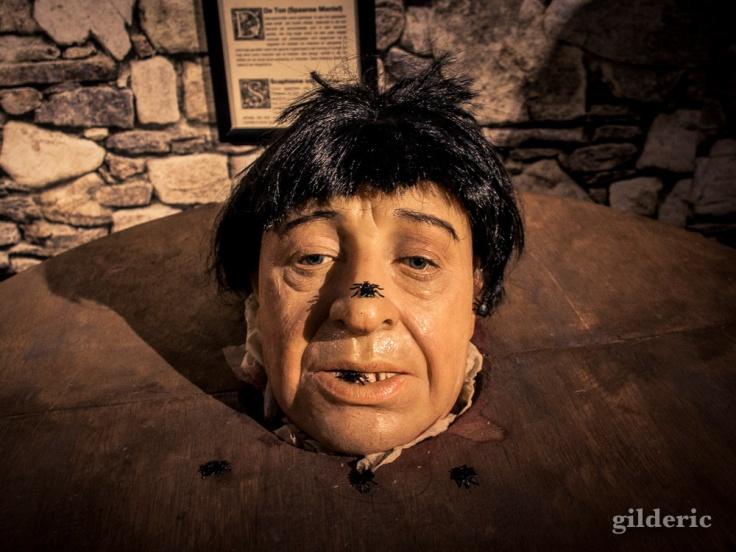 Musée de la Torture : figure de cire