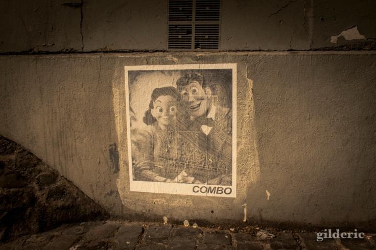 Street Art Woody et Jessie