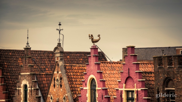 Les toits de Bruges