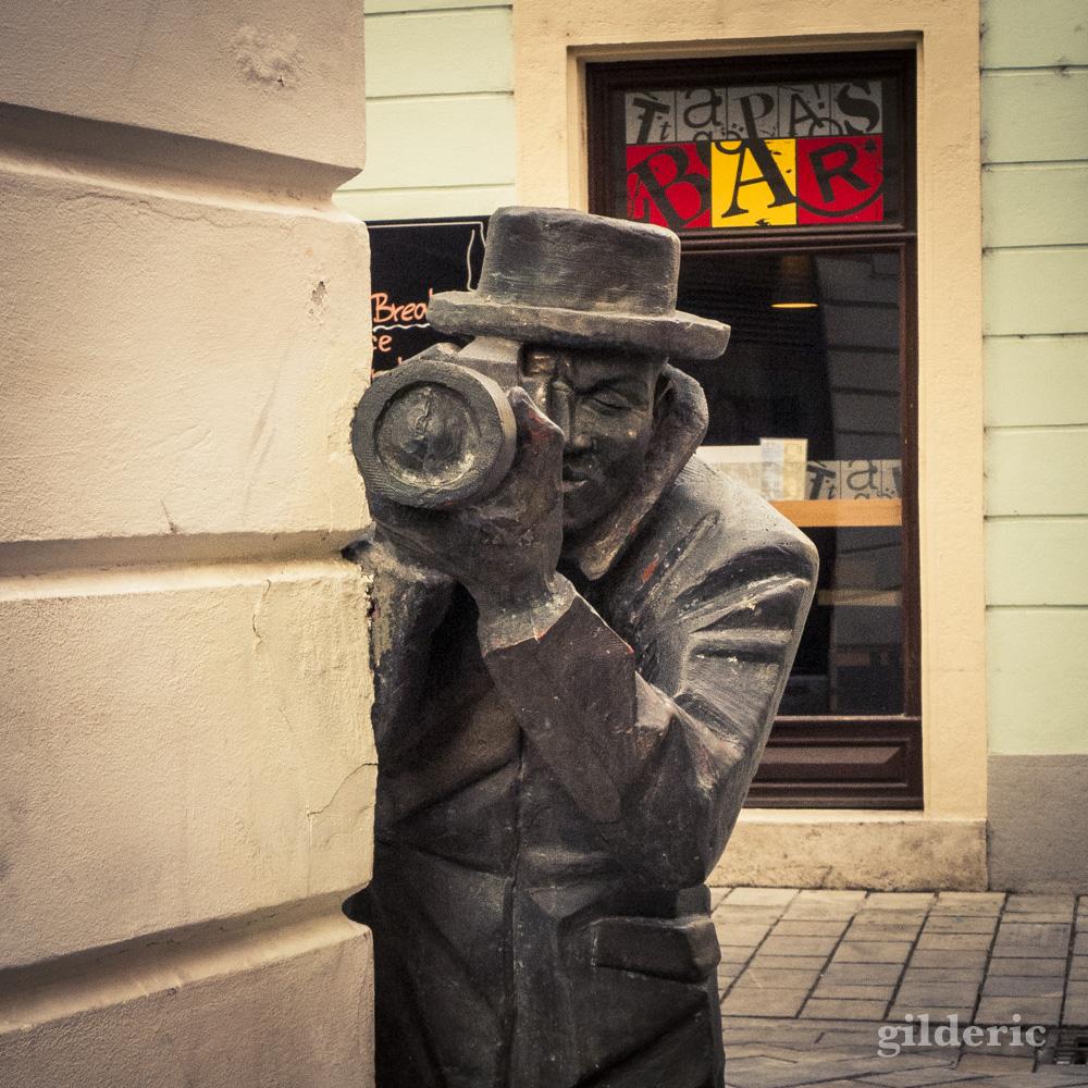"""Détail du """"Paparazzi"""" (Bratislava)"""