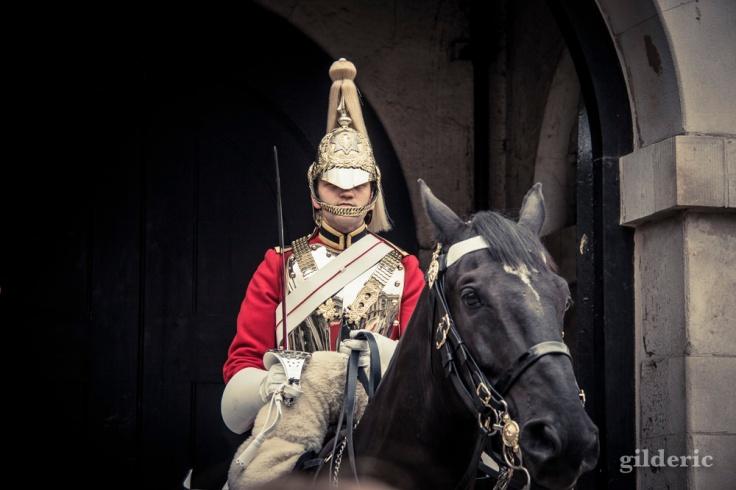 Garde à cheval, Londres