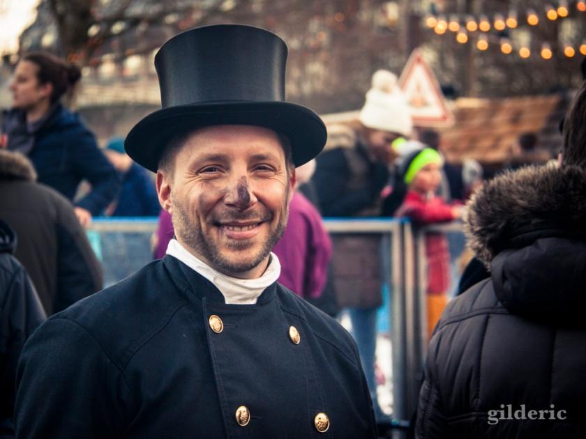 Ramoneur sur le Marché de Noël de Cologne