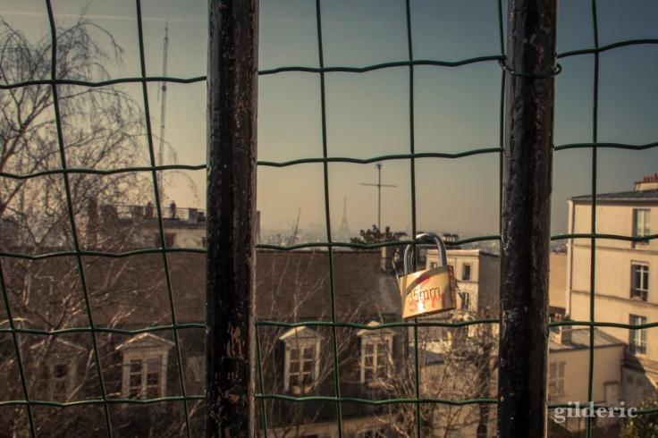 Cadenas à Montmartre