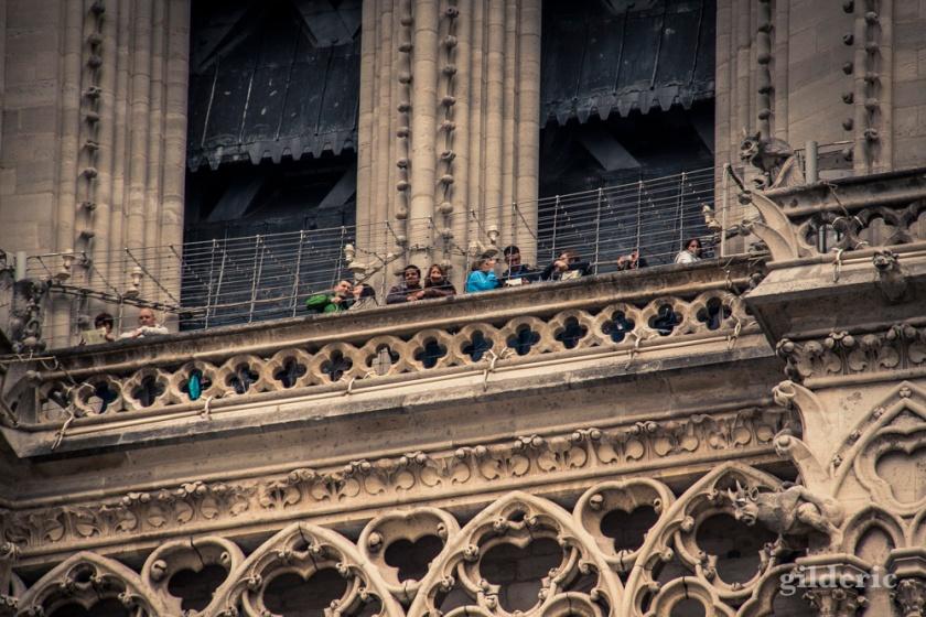 Le balcon de Notre-Dame