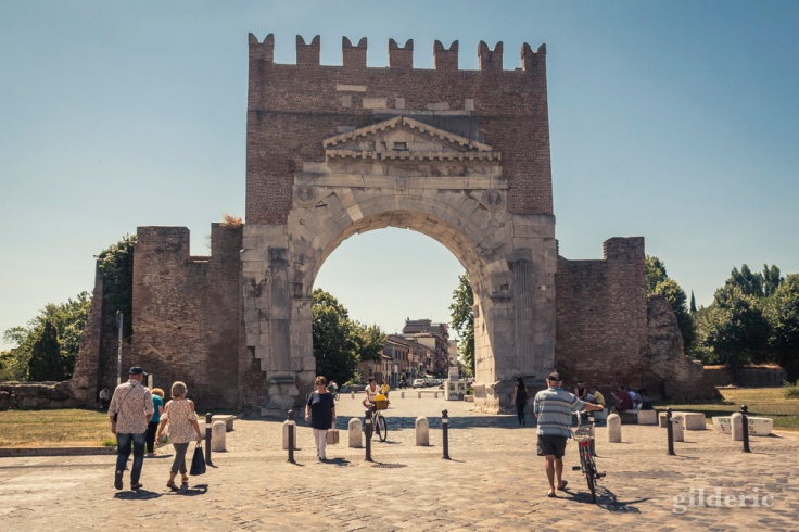 Arc d'Auguste à Rimini