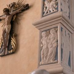 Bas-relief d'une des chapelles du Temple Malatesta