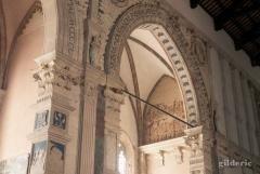 Détail des chapelles du Temple Malatesta