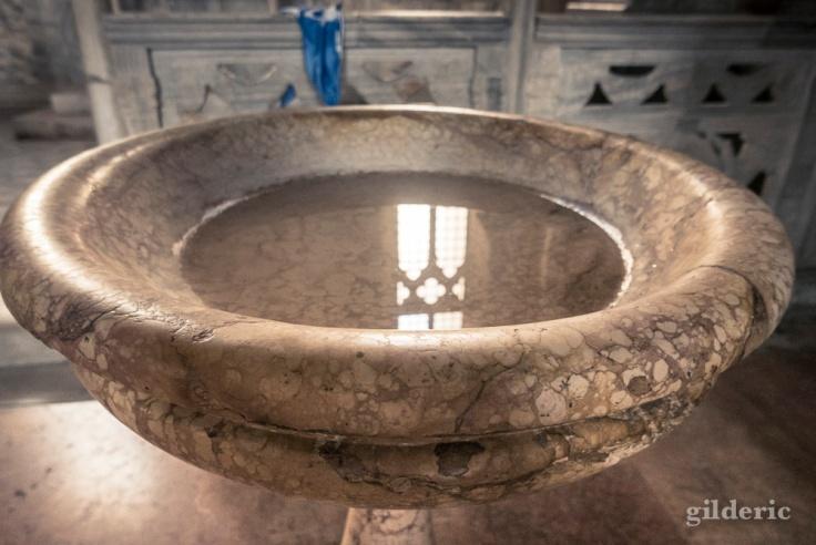 Bénitier (Temple Malatesta à Rimini)