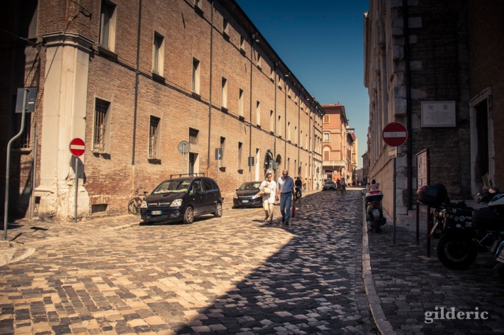 Dans les rues de Rimini