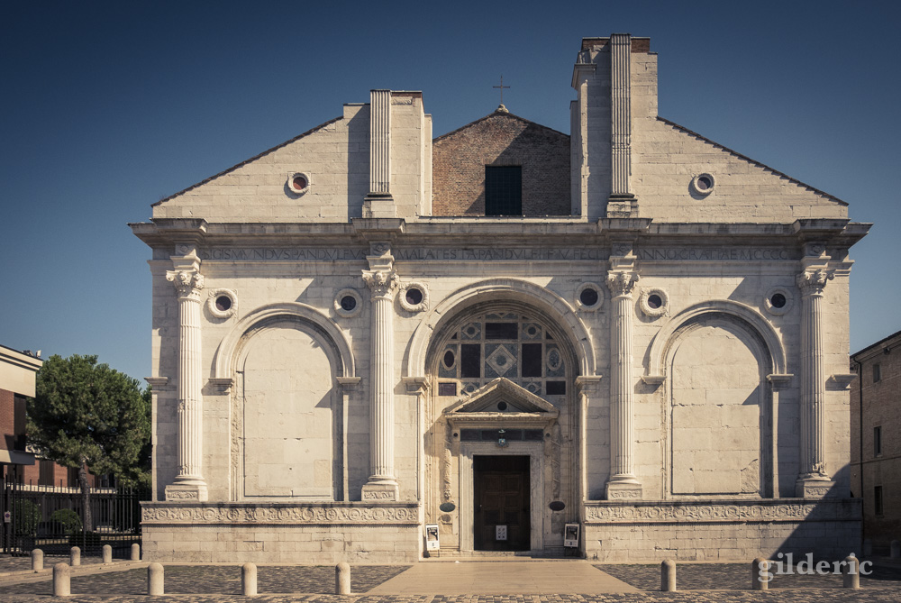 Bella Italia : le Temple Malatesta à Rimini