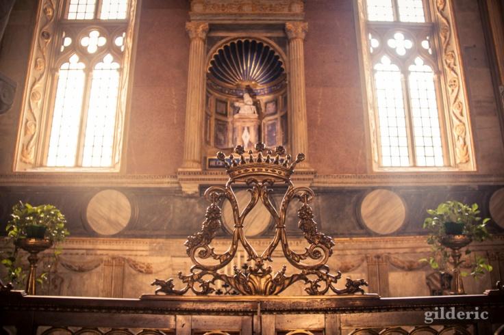 Détail d'une chapelle du Temple Malatesta