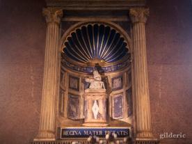 Pieta de la chapelle des martyrs du Temple Malatesta