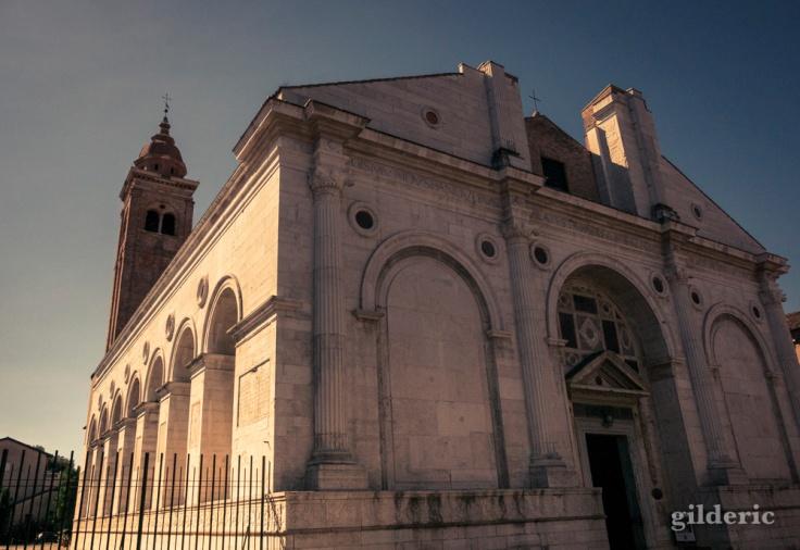 Le temple Malatesta à Rimini (architecture)