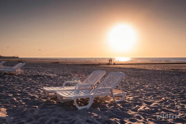 Fin de saison et de vacances (plage de Blankenberge, Belgique)