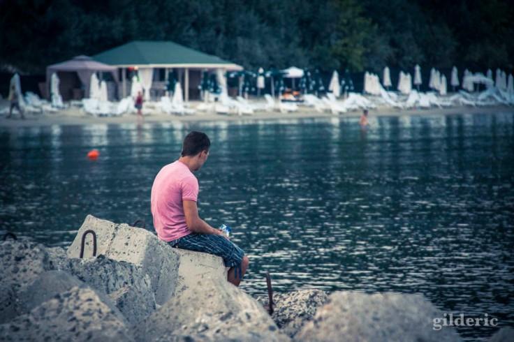 Le garçon triste (Nessebar, Bulgarie)