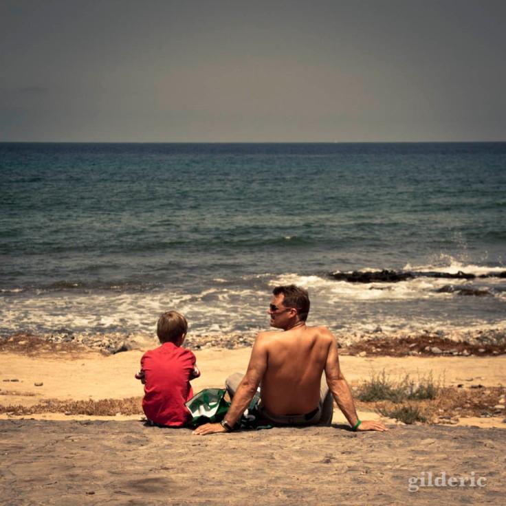 Père et fils (Tenerife, Canaries)