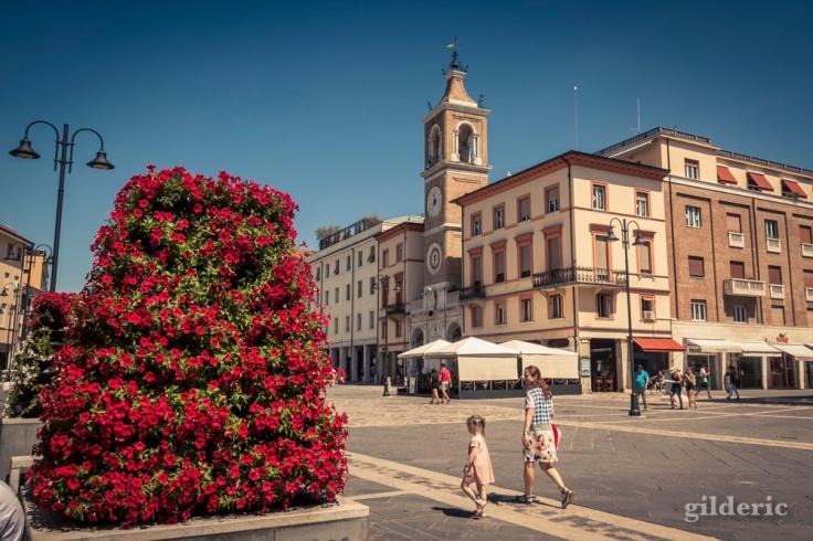 Place des 3 Martyrs à Rimini