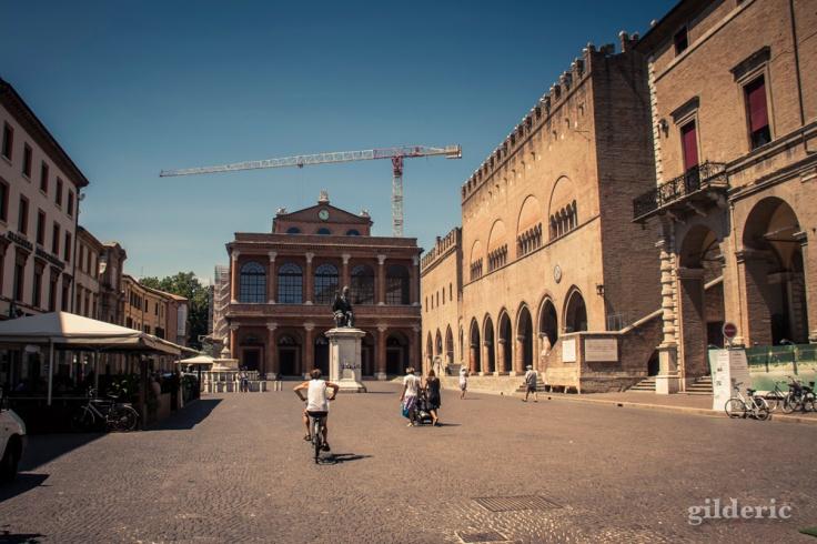 Piazza Cavour à Rimini
