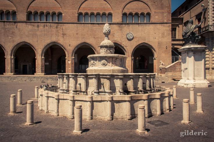 Fontaine de la Pigna - Piazza Cavour à Rimini
