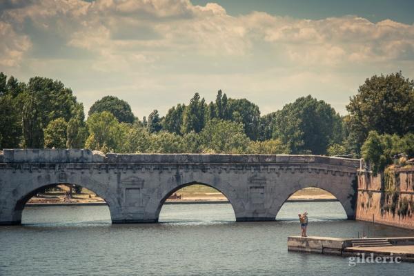 Visiter Rimini et le Pont de Tibère