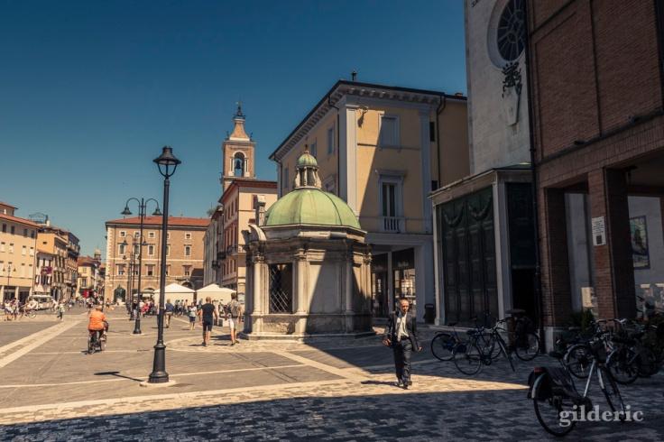 La Place des 3 Martyrs à Rimini