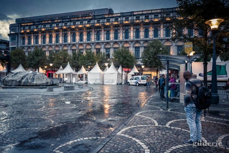 Place Saint-Lambert et grand bazar (Liège)